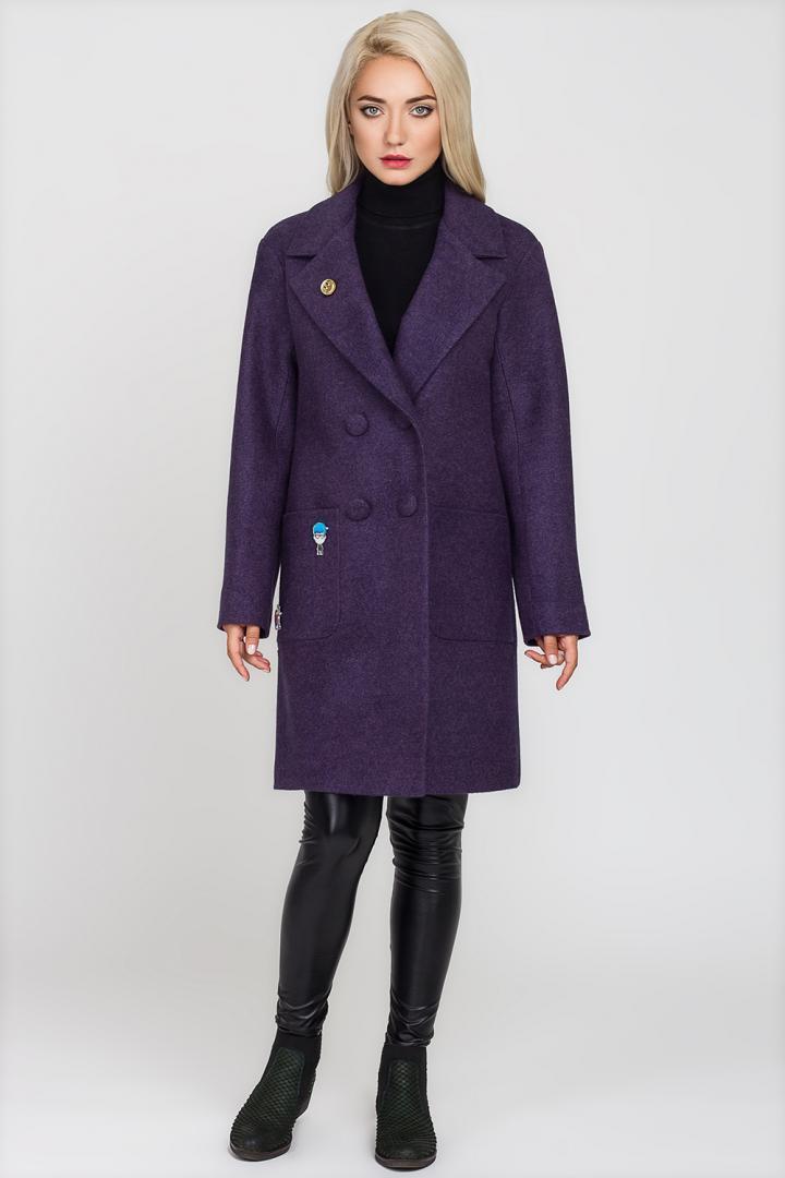 Пальто женское  демисезонное женское Будапешт PB2381  р-ры 42
