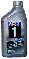 Моторное масло синтетическое Mobil 1 5w50 1л