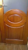 Межкомнатная дверь из массива сосны с овальной филёнкой