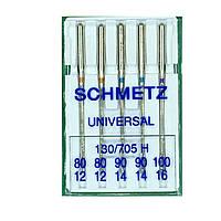 Иглы универсальные 130/705 H Universal B5 80*2/90*2/100