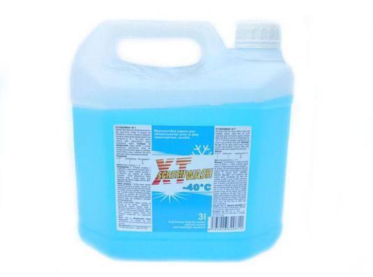 """Жидкость для омывателя стекла зимняя (концентрат) -40°c """"Screenwash"""", 3л"""