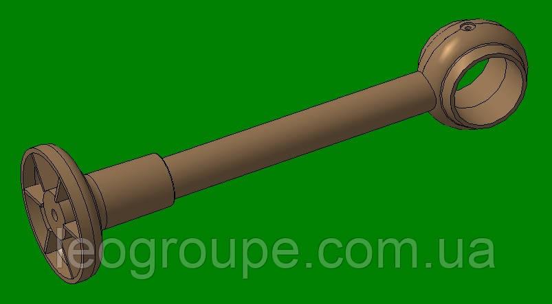 Держатель трубы трубчатого карниза 28 мм