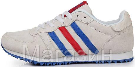 Мужские кроссовки adidas Originals Low Beige Адидас бежевые, фото 2