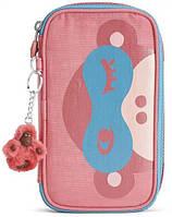 Пенал для школы Kipling 50 PENS PLUS K00228_24T, розовый