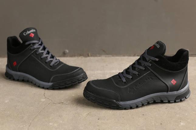 Зимние кожаные ботинки Columbia, фото 2