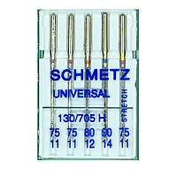 Иглы универсальные 130/705 SORT B5 H 75*2/80/90/ H-S 75