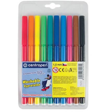 Набор фломастеров для рисования Centropen 10 цветов, фото 2