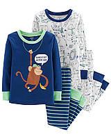 Пижама Картерс  (Carters) для мальчика 2Т ( 88-93 см) синяя