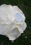 Светильник цветок роза бра люстра на жестком креплении, фото 6
