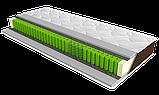 Матрас Epsilon /  Эпсилон Sleep&Fly Organic (ЕММ) 1500х1900х220 мм независимые пружины до 150 кг , фото 2