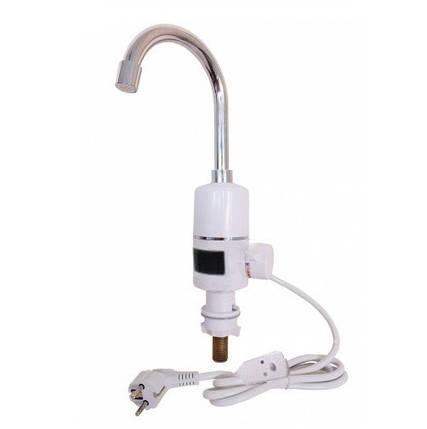 Электрический проточный водонагреватель Grunhelm EWH-3F-LED, фото 2