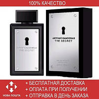 Antonio Banderas The Secret EDT 100 ml (туалетная вода Антонио Бандерас Зе Сикрэт)