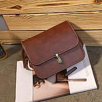 Женская сумка через плечо коричневого цвета, Жіноча сумочка, Клатч