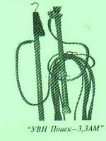 Покажчик напруги для контактної сіті залізниці