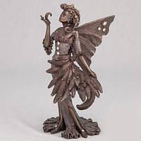 Бронзовая статуэтка Фея с перьями (16 см)