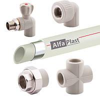 Полипропилен Alfa Plast(трубы,муфты,фитинги)