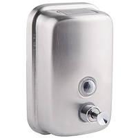 Дозатор для жидкого мыла 800 мл металл GF Italy (CRM)/S-405-8 хром
