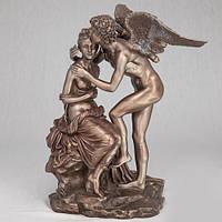 Бронзовая статуэтка Купидон и Психея (28 см)