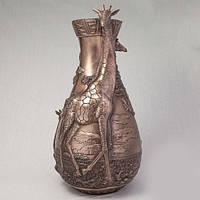 Бронзовая ваза Жирафы (44 см)