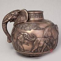 Бронзовая ваза Слон (26 см)