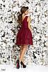 Платье вечернее без рукав гипюр+габардин 42,44,46 , фото 6