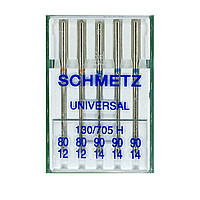 Иглы универсальные 130/705 H Universal B5 80*2/90*3