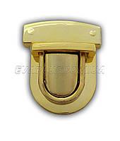 Барсеточный замок 29мм/48мм. (2225) ( золото), фото 1