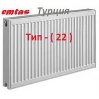 Стальной панельный радиатор ( 22-тип 500х500 ) EMTAS ( Турция )