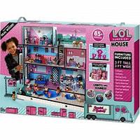 Огромный кукольный домик дом лол  LOL MGA 555001
