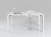 Стол офисный на металлических опорах с лючком Enrandnepr 1411x814, фото 7