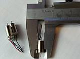 Мотор для квадрокоптера, коллекторный двигатель Cheerson CX-10 Hubsan H111 и др. размер 6*12 мм, фото 3