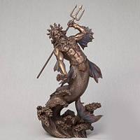 Бронзовая статуэтка Посейдон (29 см)