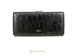 Кошелек или Портмоне Wanlima Кошелек женский кожаный WANLIMA (ВАНЛИМА) W500423229-black-red