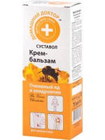 Крем-бальзам Пчелиный яд и ходроитин 75мл Домашний Доктор