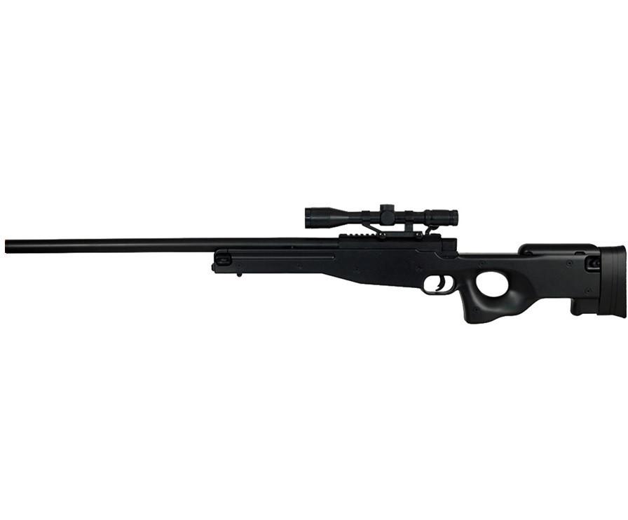 Игрушечная снайперская винтовка ZM52 на пульках, оптический прицел, поворотний затвор, детское оружие