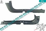 Молдинг / накладка порога передняя правая ( внутренняя ) 7700849111 Renault CLIO II