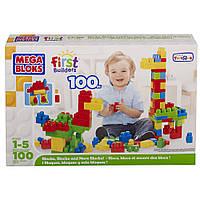Mega Bloks First Builders 100 Block Set ,Первый конструктор 100 блоков