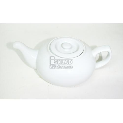Чайник 460мл керамический Белый VT-12026