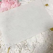Фетр белый, 1 мм