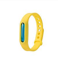 Антимоскитное средство KILNEX Силиконовый антимоскитный браслет, Желтый (SUN0321)
