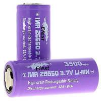 Аккумулятор Jwell Accu Efest IMR26650 3500 Ma (CH07-IMR26650-3500)