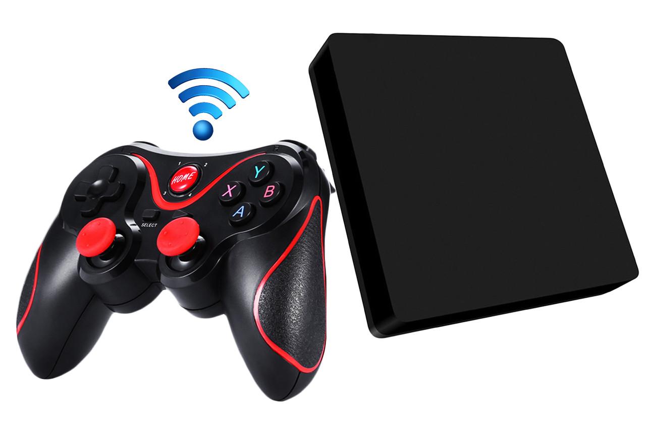 Как подключить и настроить беспроводной геймпад к Android TV Box без