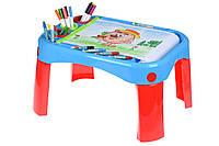 Обучающий столик Same Toy My Fun Creative table с аксесуарами (8810Ut)