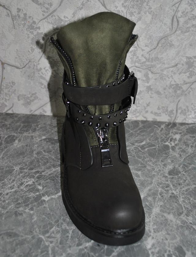 dd30d0608 Полноразмерные кожаные полусапожки (сапоги женские). Современная модель  разработанная дизайнерами итальянского бренда Mengni Anna. Сезон 2018 -  2019 года.
