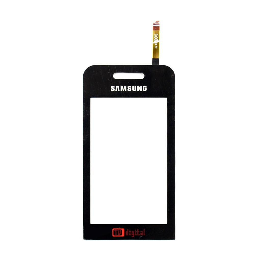 Сенсорный экран (тачскрин) Samsung S5233 TV чёрный