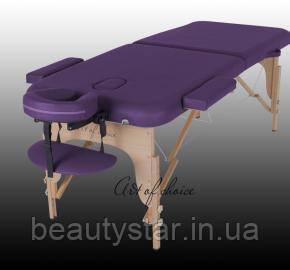 Массажный стол складной деревянный - MIA