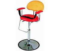 Детское кресло для стрижки, парикмахерское кресло для детей в салоне красоты, кресло-пуфик парикмахерский