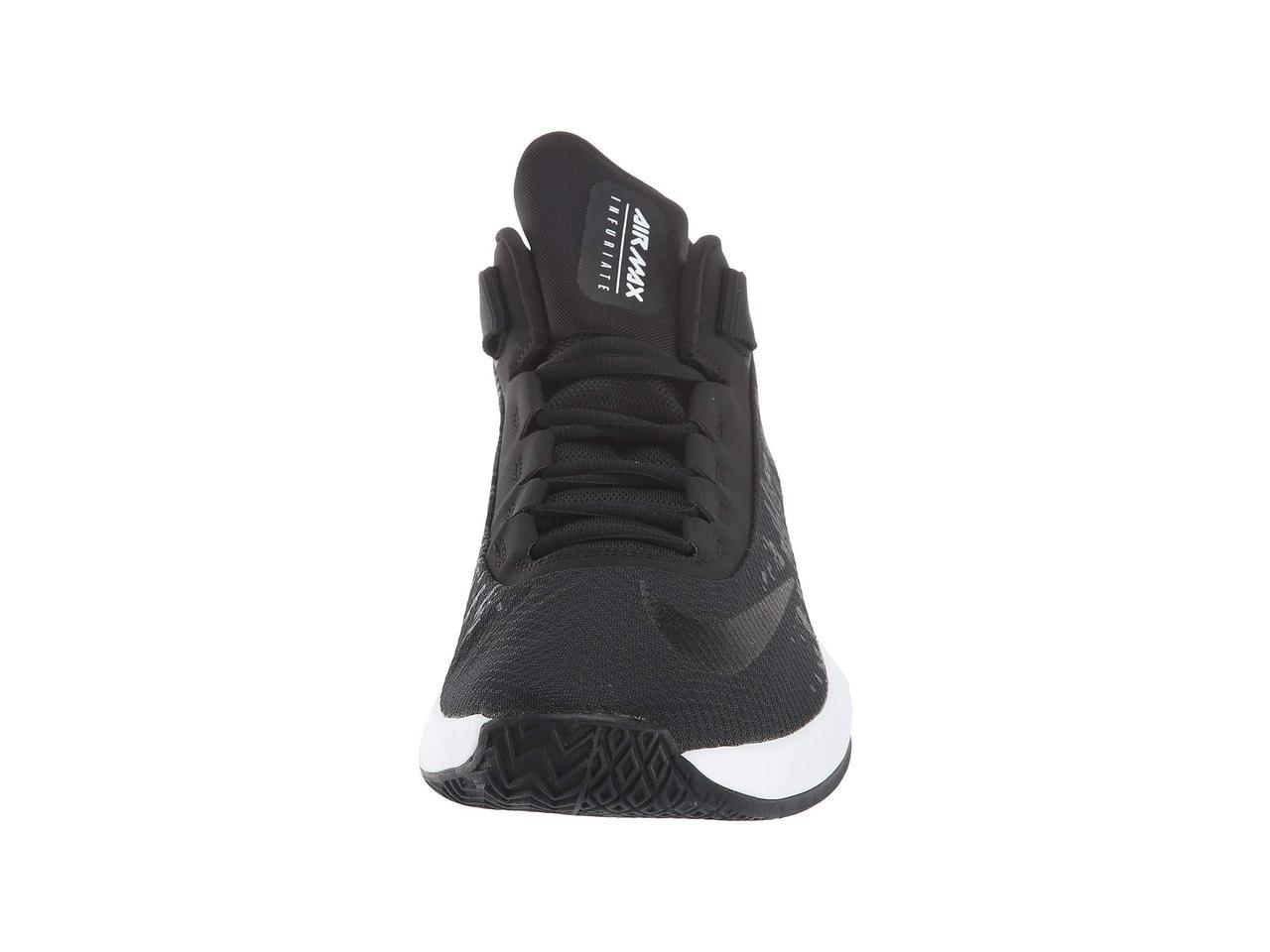 40504c3d59a8 ... Кроссовки Кеды (Оригинал) Nike Air Max Infuriate 2 Mid Black Black