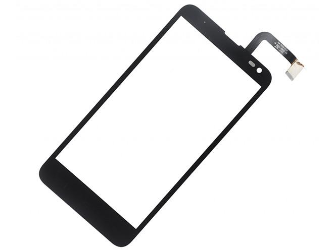 Сенсорный экран (тачскрин) Fly IQ4514 EVO Tech 4 чёрный orig