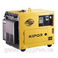 Дизельный генератор Kipor KDА6700ТАО с автоматическим запуском и отключением